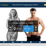 Cracked Iamnaughty.com Account