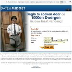 Date A Midget Account