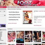 Footpayperview.com Acount