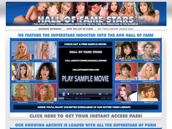 Free Halloffamestars Passwords