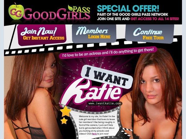Free Iwantkatie.com User And Pass