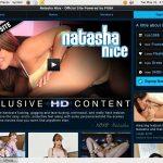 Free Login Natasha Nice