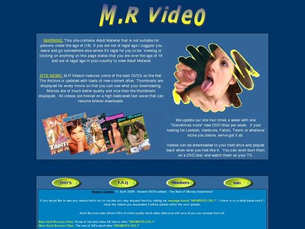 Free M.rvideo Login