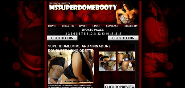 Free Pass For Ms Superdome Booty