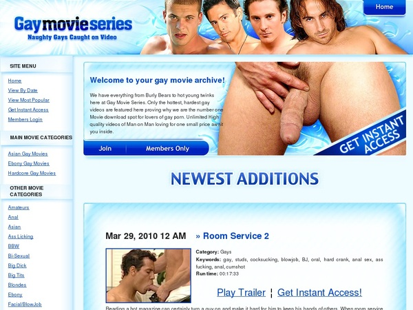 Gay Movie Series Get Discount