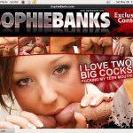 Get Into Sophiebanks.com Free