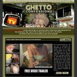 Ghettoconfessions.com Acount