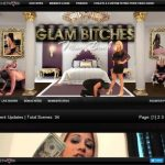 Glambitches With Credit Card