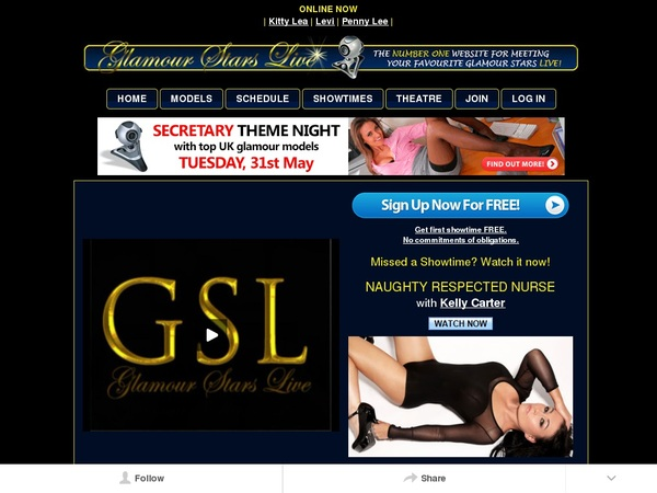Glamourstarslive Porn Account