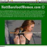 Hott Barefoot Women Member Passwords