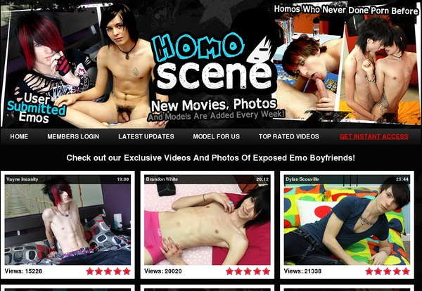 How To Get A Free Homo Scene Account