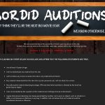 How To Get A Free Sordidauditions Account