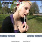 Janinafashion Signup Page