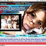Japandreams.com Sign Up Form