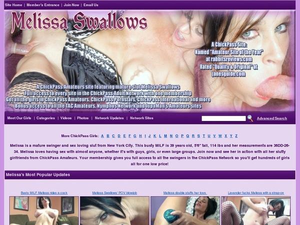 Melissaswallows.com Discounted
