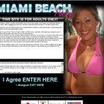 Miami Beach Party Account