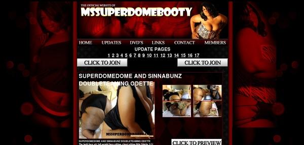Mssuperdomebooty Website Password