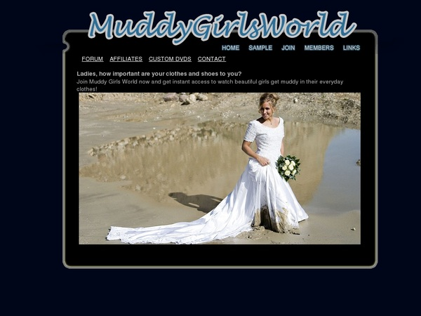 Muddygirlsworld With Discover Card