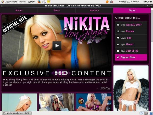 Nikita Von James Porn Video