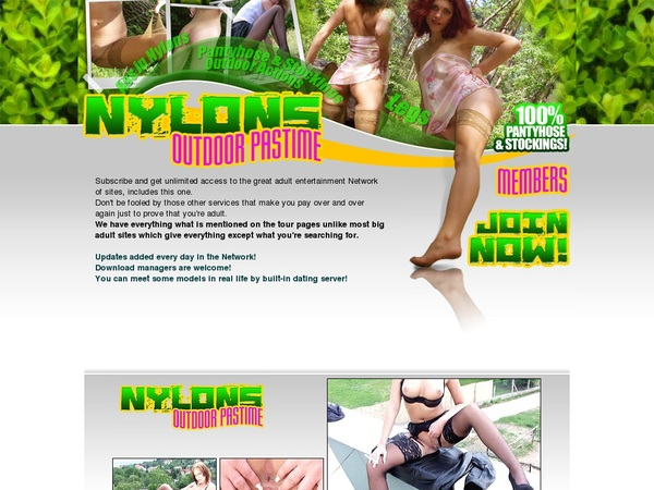 Nylons Outdoor Free Accounts And Passwords