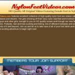Premium Nylon Feet Videos