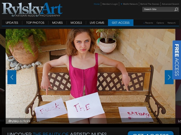 Premium Rylsky Art Passwords