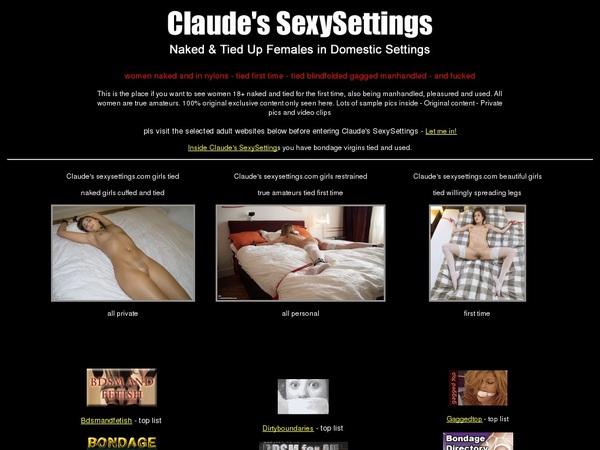 Sexysettings Discount Price