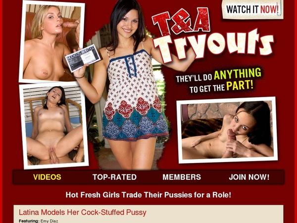 TNA Tryouts Membership