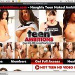 Teen Ambitions Premium Login