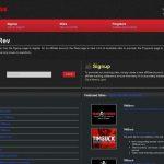 Timrev Website Accounts