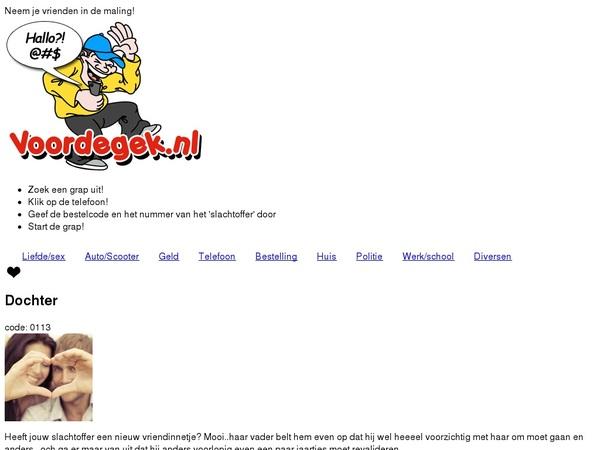 Voordegek.nl Premium Login