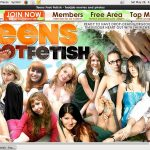 Account On Teensfootfetish.com