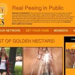 Crazy Pee Girls Video