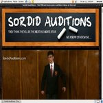 Free Account On Sordidauditions