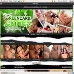 Log In Green Card Cuties
