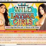 Wild Latina Girls Signup Page