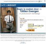 Date A Midget Sign