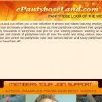 E Pantyhose Land For Free