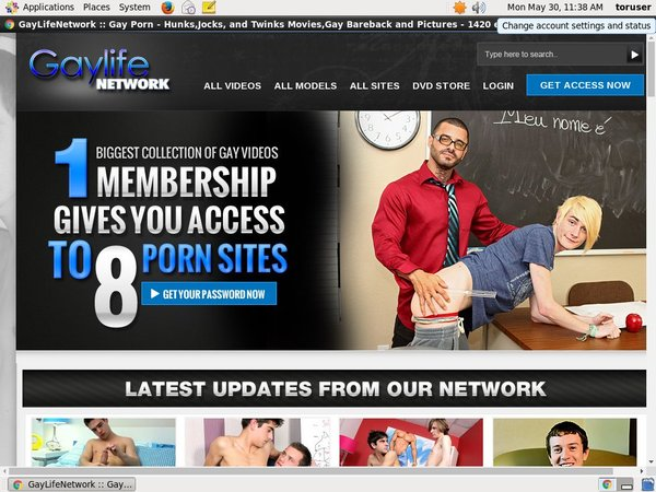 Free Account Of Gay Life Network