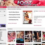 Foot Pay Per View With Discover Card