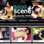 Homoscene.com Sign Up Form