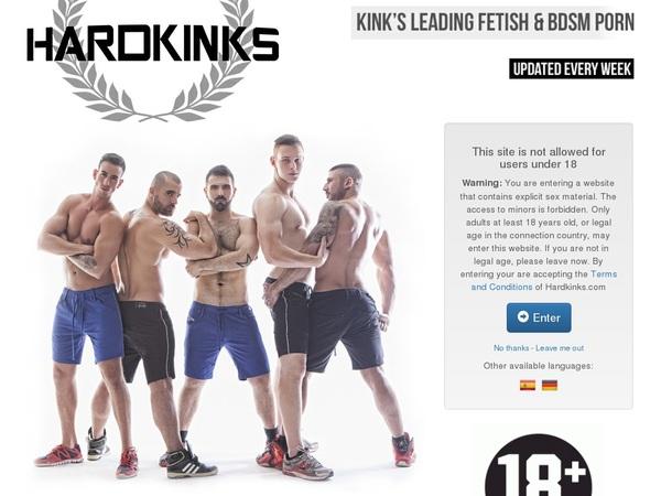 Free Hardkinks Account Logins