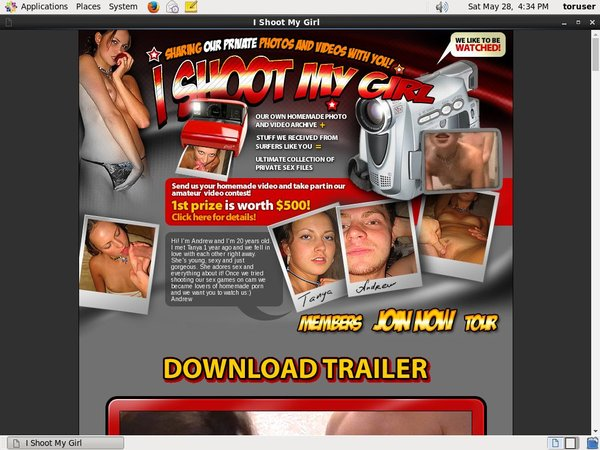 Ishootmygirl.com Hacked Password