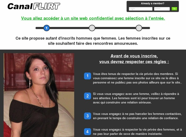Canal Flirt Account Generator 2016