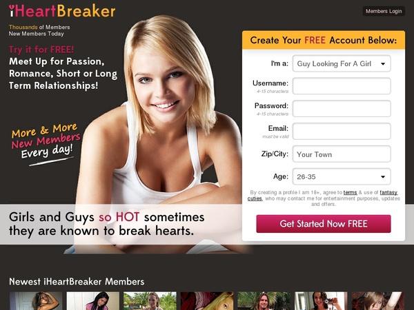 Free Access Iheartbreakermobile