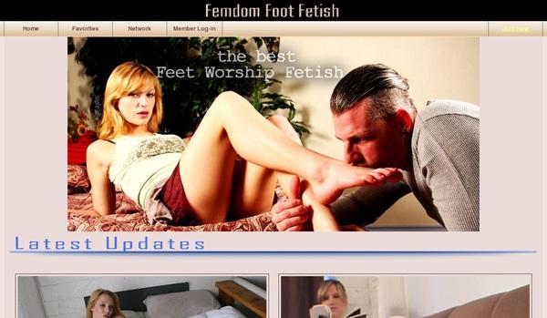 Free Femdom Foot Fetish Accounts Premium