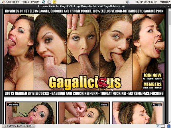 Gagalicious.com Login Passwords
