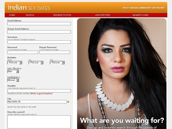 Indiansexdates With Paypal
