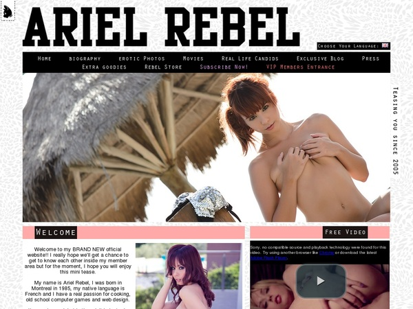 Mobile Arielrebel Account
