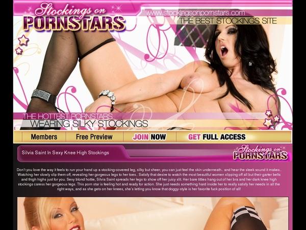 Stockings On Pornstars Pics